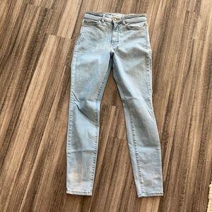 American Apparel Pencil High Waist Jean